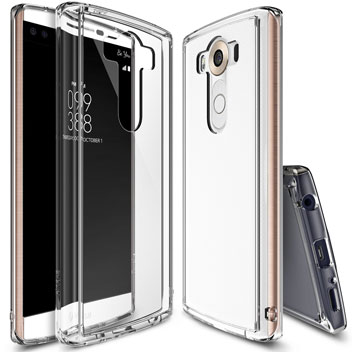 Rearth Ringke Fusion LG V10 Case - Crystal View