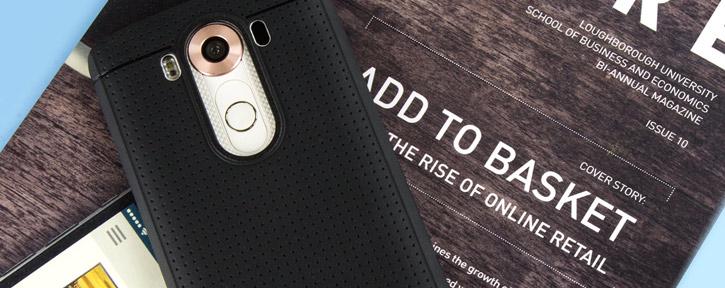 FlexiShield Dot LG V10 Case - Black