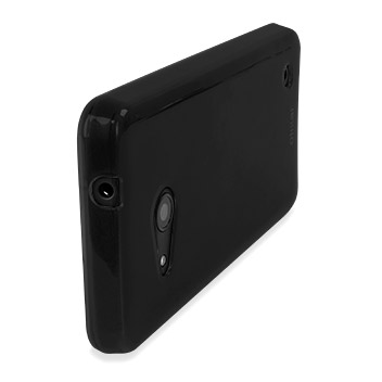 FlexiShield Microsoft Lumia 550 Gel Case - Solid Black