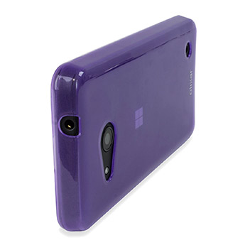 FlexiShield Microsoft Lumia 550 Gel Case - Purple