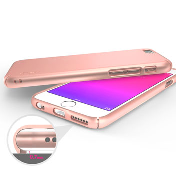 Rearth Ringke Slim iPhone 6S / 6 Case - Rose Gold