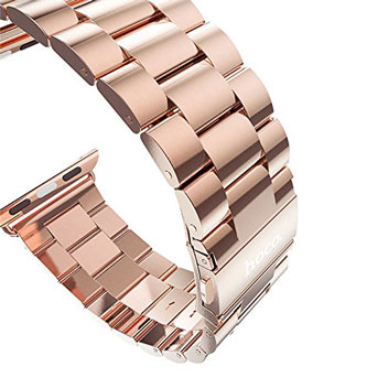 Hoco Apple Watch Strainless Steel Strap - 42mm - Rose Gold