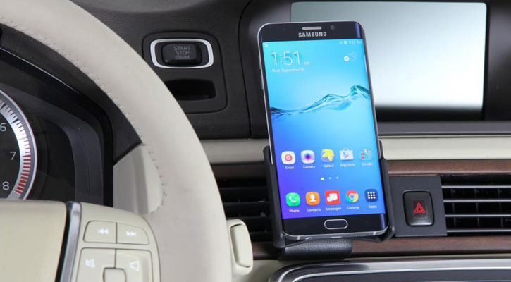 Brodit Passive Samsung Galaxy S6 Edge Plus In Car Holder with Tilt Swivel