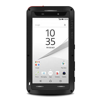 Love Mei Powerful Sony Xperia Z5 Compact Protective Case - Black