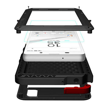 Love Mei Powerful Sony Xperia Z5 Protective Case - Black