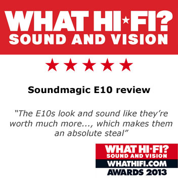 SoundMAGIC E10 In-Ear Headphones - Gunmetal