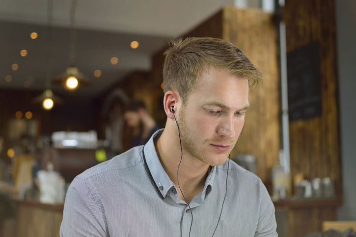 SoundMAGIC E10C In-Ear Headphones with Hands-Free - Gunmetal