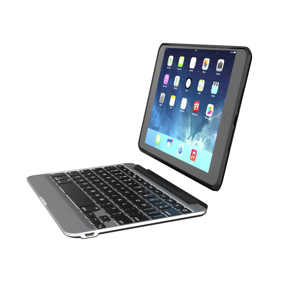 Zagg Slim Book Ipad Mini 4 Keyboard Case Black Reviews