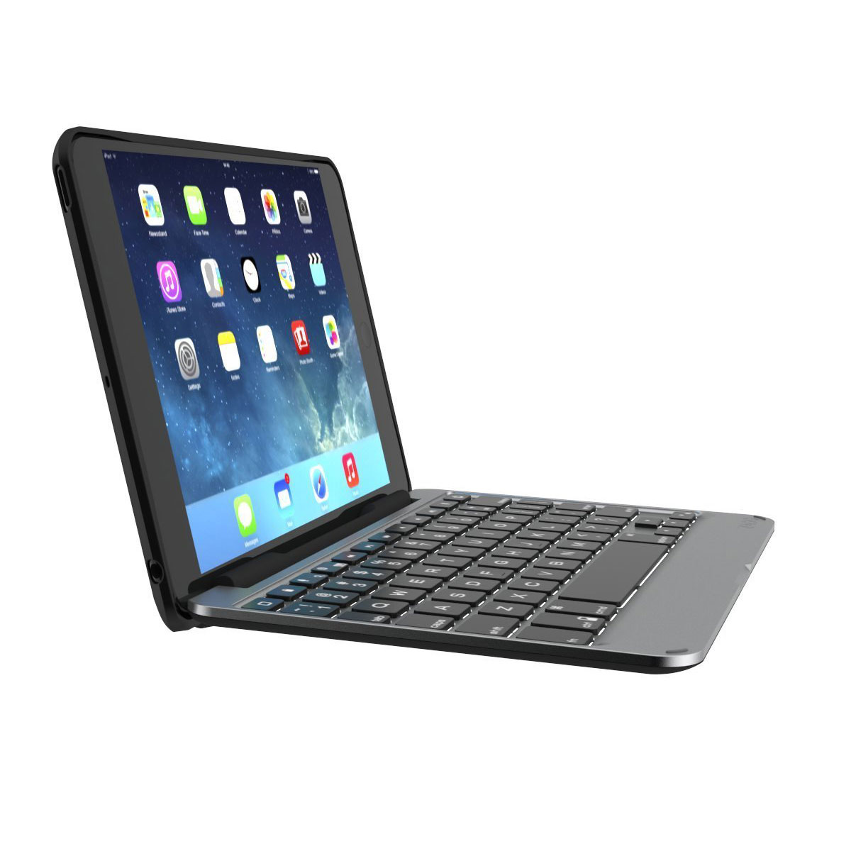 zagg ipad mini keyboard how to connect