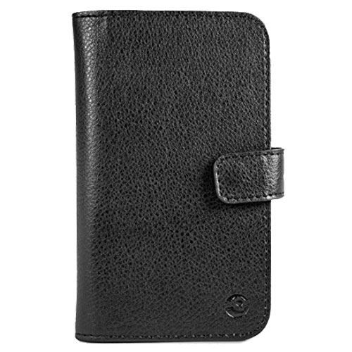 Official Doro Leather Style Liberto 820 Book Case - Black