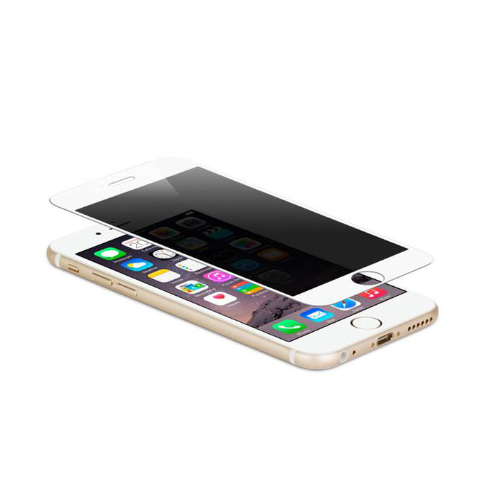 Moshi iVisor 6S Plus / 6 Plus Privacy Glass Screen Protector - White