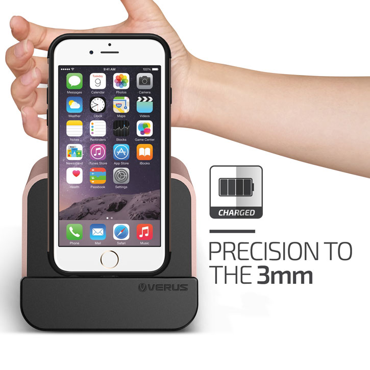 Verus i-Depot iPhone / iPad Charging Stand - Rose Gold