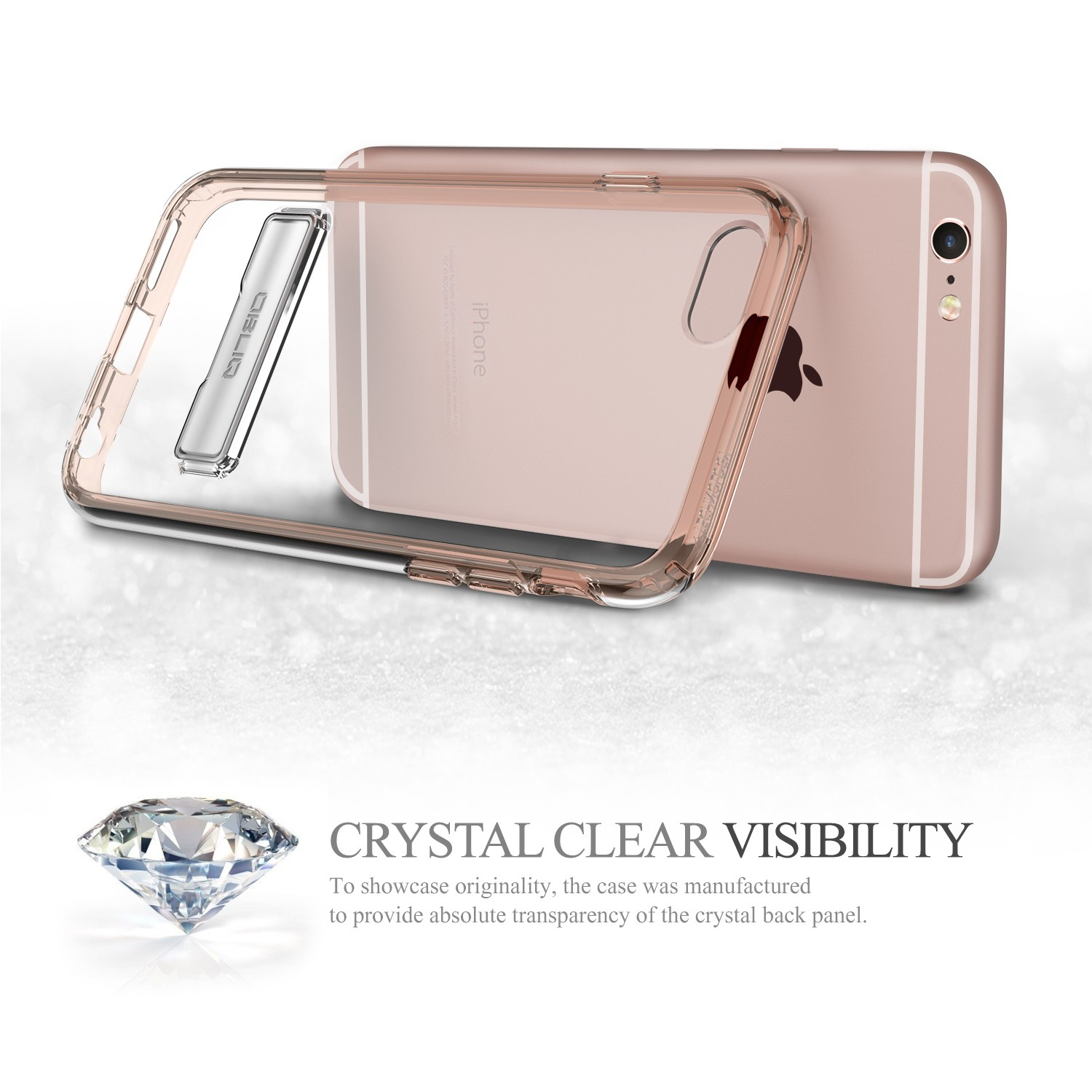 Obliq Naked Shield iPhone 6/6S Case - Rose Gold