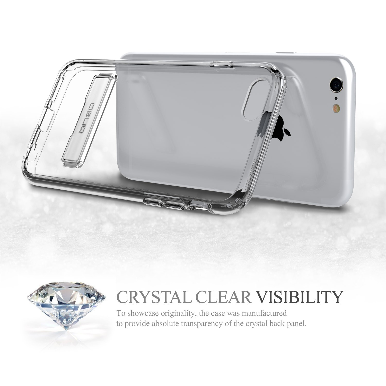 Obliq Naked Shield iPhone 6/6S Case - Clear