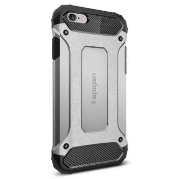 Spigen Tough Armor Tech iPhone 6S / 6 Case - Satin Silver