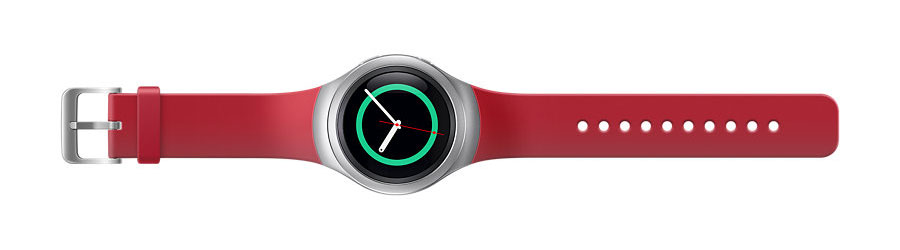 Official Samsung Gear S2 Strap - Red