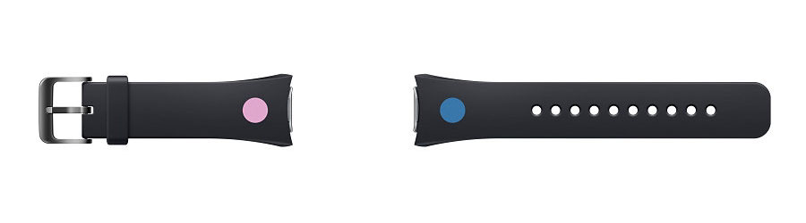 Official Samsung Gear S2 Strap - Black