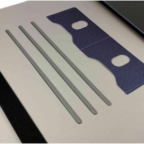 Tuff-Luv Leather Style Rotating iPad Pro Case - Navy