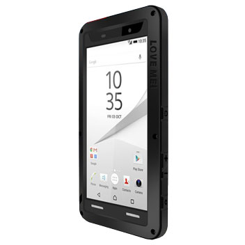 Love Mei Powerful Sony Xperia Z5 Premium Protective Case - Black