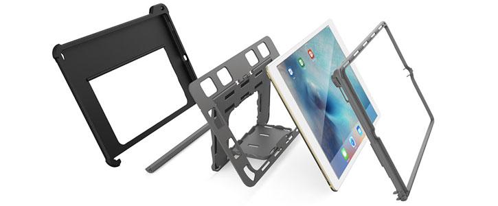 Gumdrop Hideaway iPad Pro Stand Case - Black