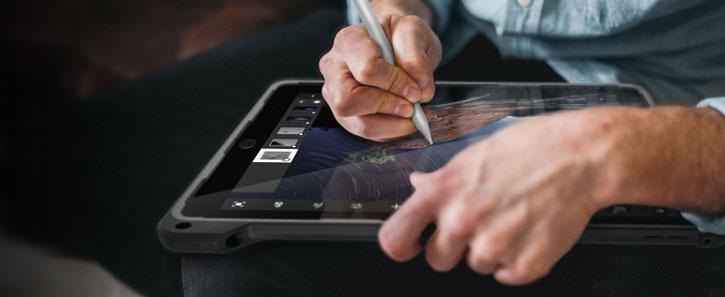 Gumdrop Hideaway iPad Pro 9.7 Stand Case - Black
