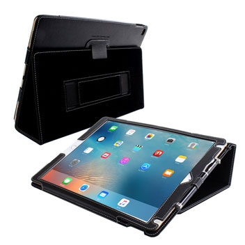 Snugg Leather Style iPad Pro Case - Black