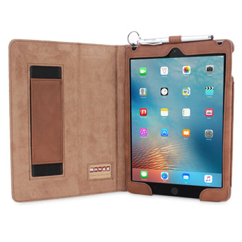 Snugg Leather Style iPad Pro Case - Brown