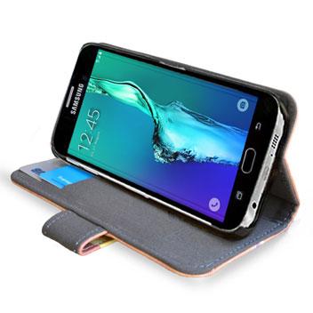 Create and Case Samsung Galaxy S6 Edge Plus Book Case - Sunny Leo