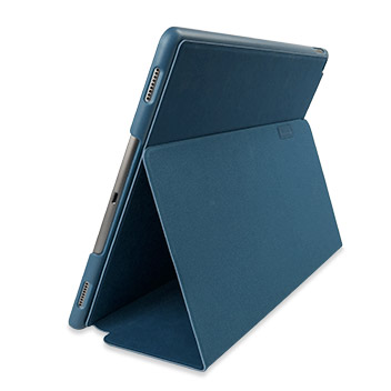 Comma Elegant Series Leather iPad Pro Case - Dark Blue
