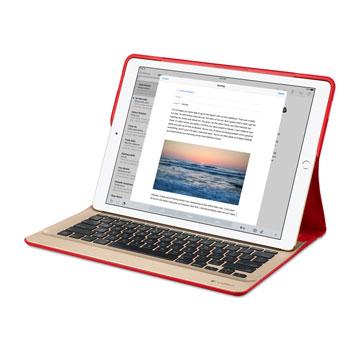 coque clavier ipad pro logitech create backlit rouge. Black Bedroom Furniture Sets. Home Design Ideas