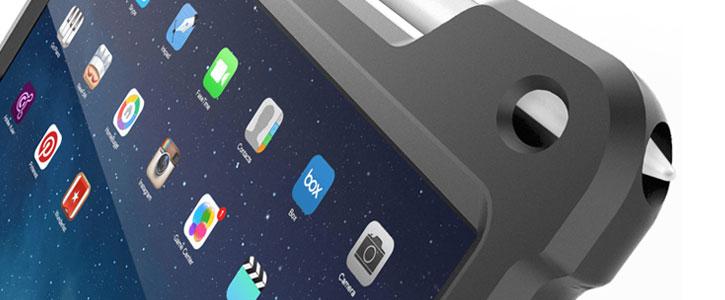 Gumdrop Hideaway iPad Pro Stand Case - White / Grey