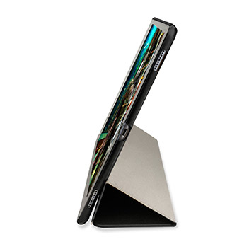 Olixar iPad Pro Folding Stand Smart Case - Clear / Black