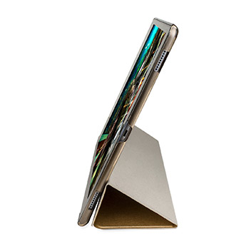 Olixar iPad Pro Folding Stand Smart Case - Clear / Gold