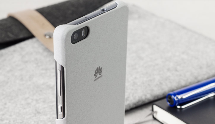 Official Huawei P8 Lite Hard Case - Light Grey