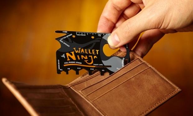 Carte Wallet Ninja 18 en 1