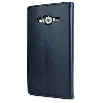 Mercury Blue Moon Samsung Galaxy J5 Wallet Case - Navy