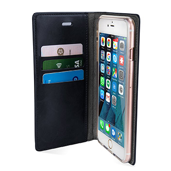 Mercury Blue Moon iPhone 6S / 6 Wallet Case - Navy