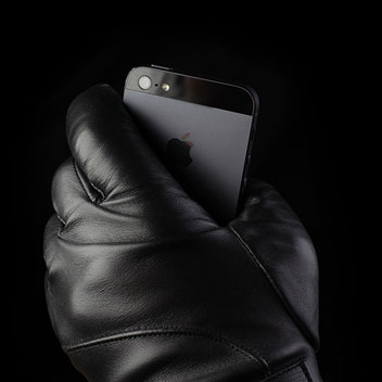 Mujjo Leather Touchscreen Gloves - Size 9