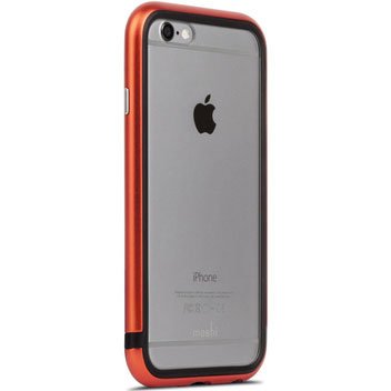 Moshi IGlaze Luxe iPhone 6S Bumper Case - Alloy Orange