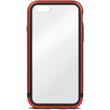 Moshi IGlaze Luxe iPhone 6S Bumper Case - Alloy Orange