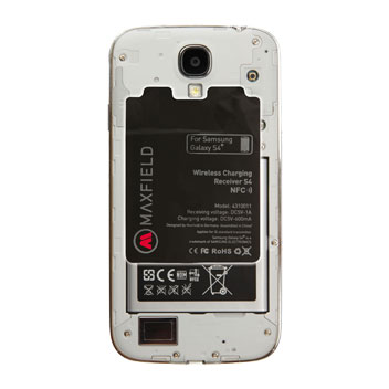 Maxfield Samsung Galaxy S4 NFC Qi Internal Wireless Charging Adapter