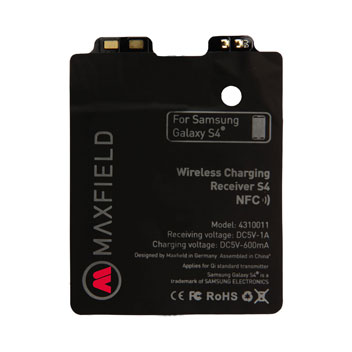 Maxfield Samsung Galaxy S4 NFC Qi Internal Wireless Charging Adapter