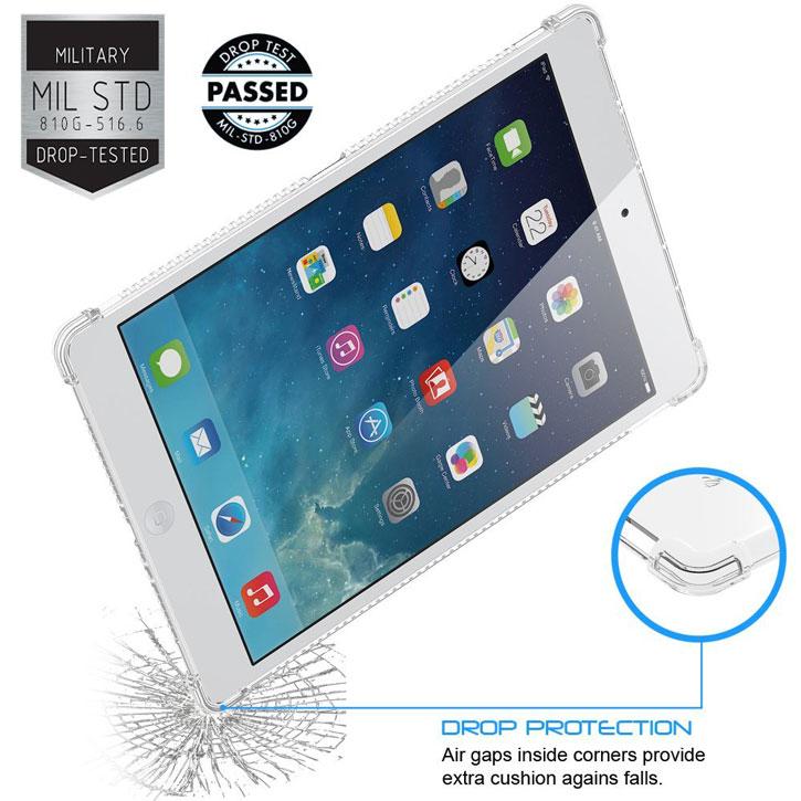LUVVITT Clear Grip iPad Pro Tough Case - Clear