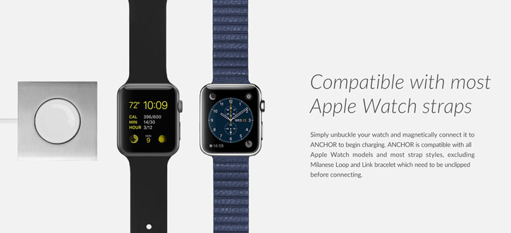 Native Union Anchor For Apple Watch - Slate