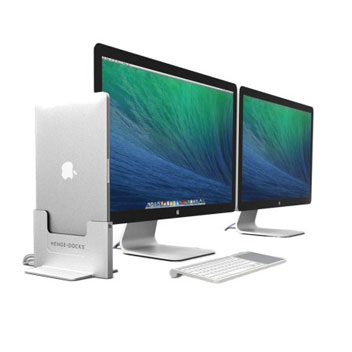 Henge Docks 15 inch MacBook Pro Retina Vertical Metal Docking Station