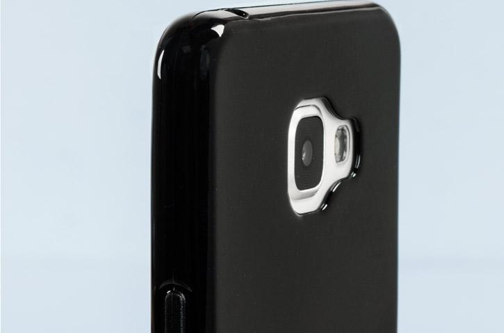 FlexiShield Samsung Galaxy A7 2016 Gel Case - Black