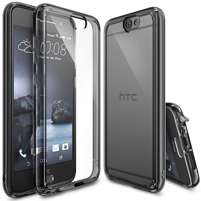 new style 831a2 4de9c Rearth Ringke Fusion HTC One A9 Case - Smoke Black