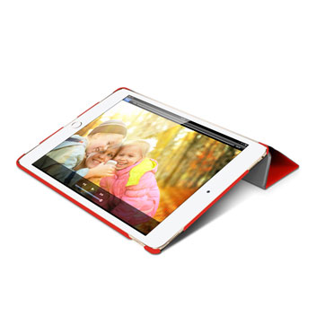 Macally BookStand iPad Pro Smart Case - Red