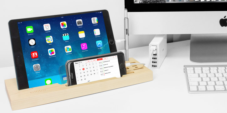 Olixar Tablet and Smartphone Multifunction Desk Station