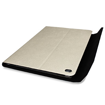 Ultra-Thin Alumnium Keyboard Folding iPad Pro Case - White